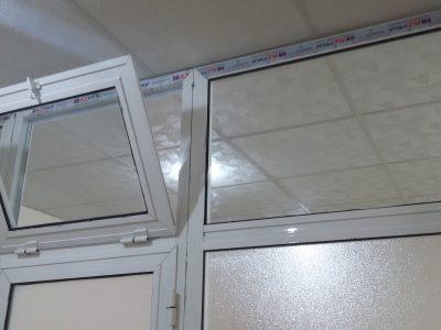 переделка глухой на открывающуюся на алюминиевых окнах