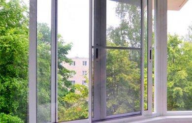 Москитная сетка на раздвижные окна в Видном